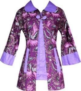 model blus batik terbaru