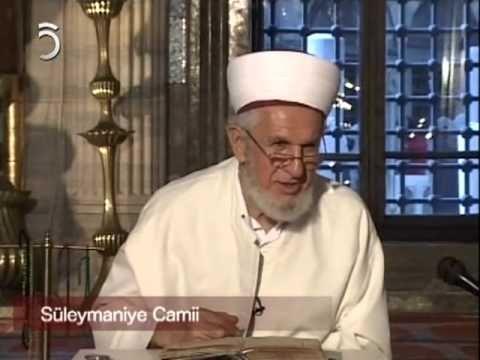Prof. Dr. Cevat Akşit Hoca   Süleymaniye Dersleri [8]   TV5 - www.dampakt.com