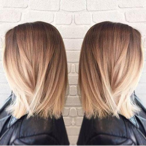 Mèches et ombre Hair Blond Le top 10 Meilleurs Modèles