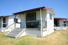 Four Berth Cabins at Papamoa Beach Resort - Afforable Holidays for every New Zealand Family!