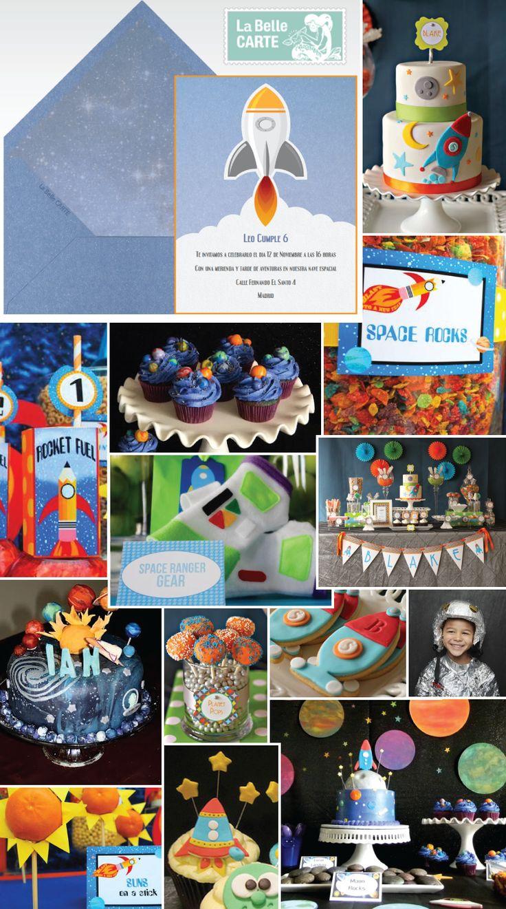 fiesta astronauta infantil con ideas de comida espacio decoracion astronauta y