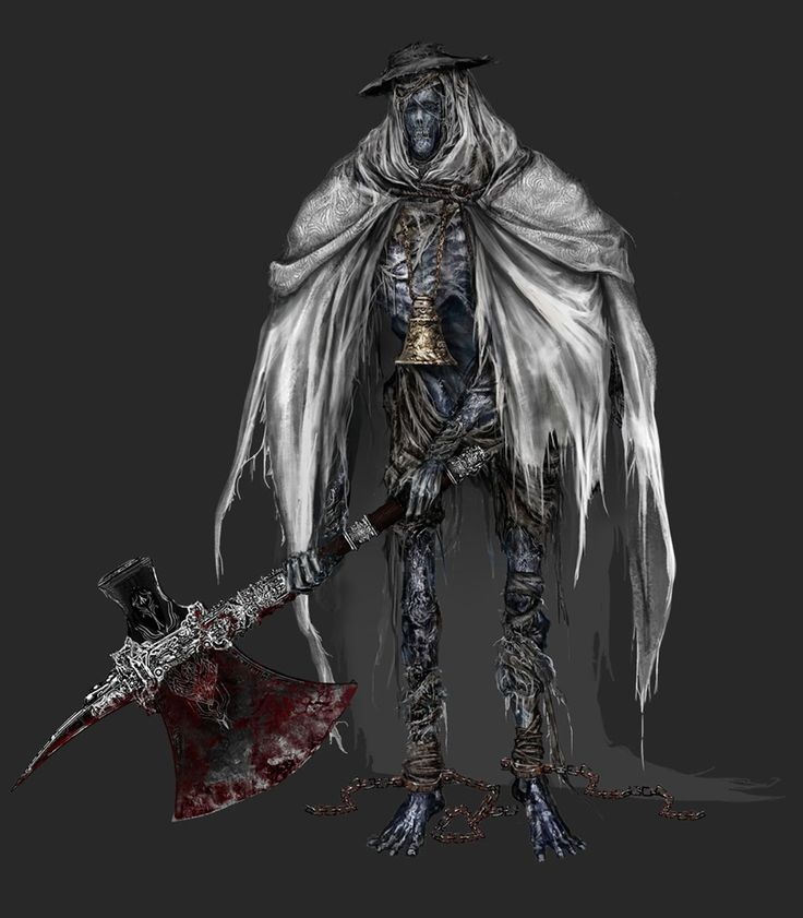 Church Giant from Bloodborne | Game Art | Pinterest ...
