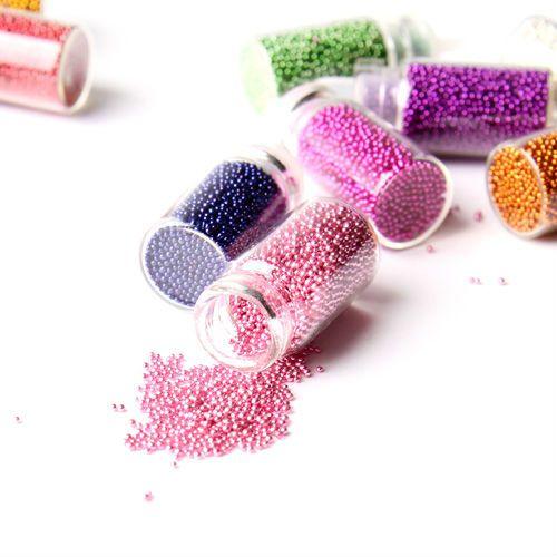 Микробисер - бульонки в бутылочках 12 цветов