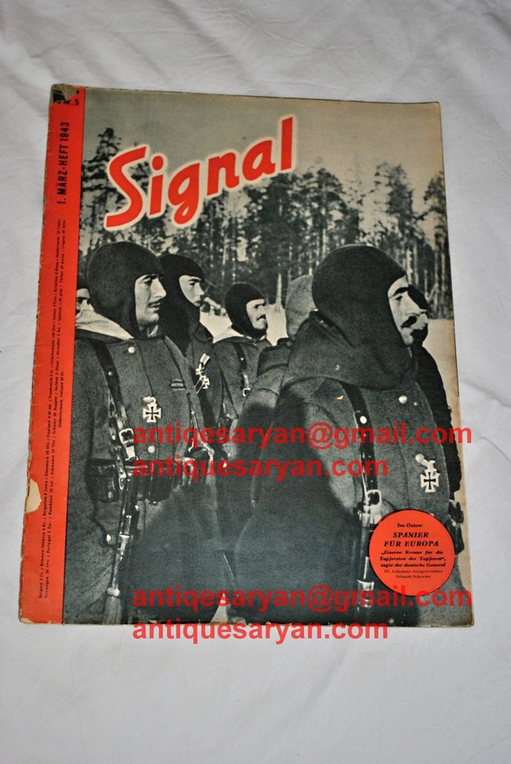 signal magazine for sale,german signal magazie