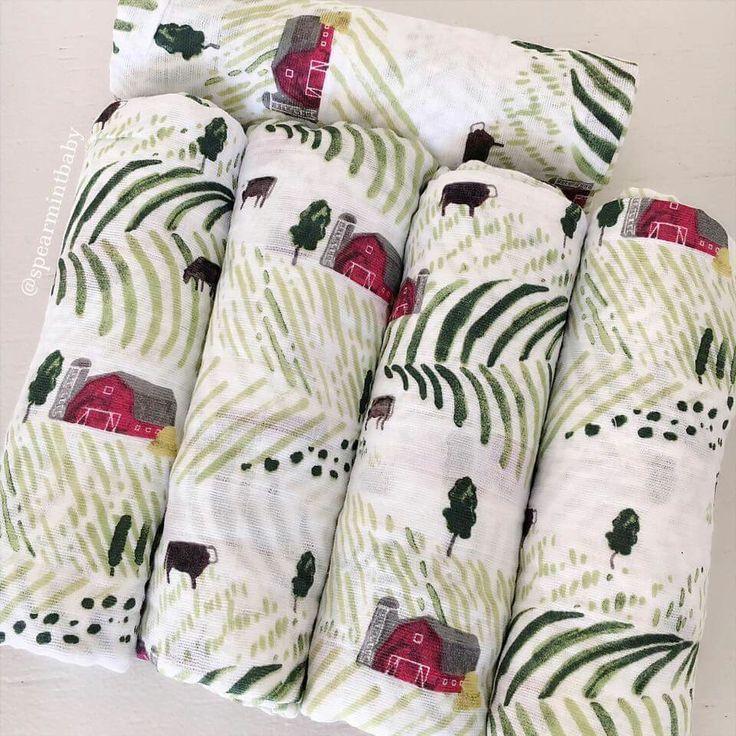 Spearmint baby.  Rolling hills muslin blankets