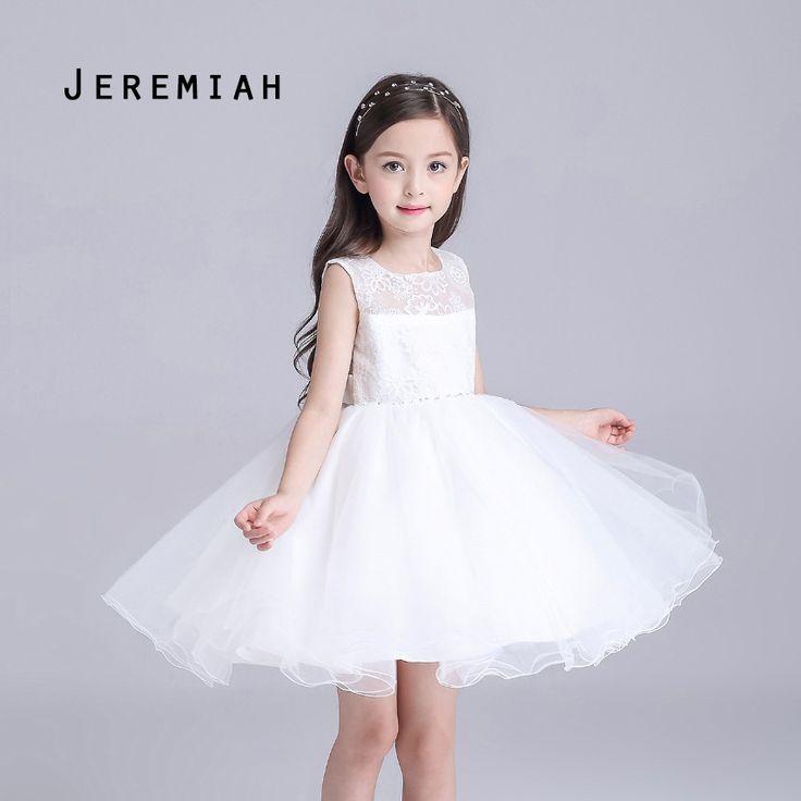 $21.00 (Buy here: https://alitems.com/g/1e8d114494ebda23ff8b16525dc3e8/?i=5&ulp=https%3A%2F%2Fwww.aliexpress.com%2Fitem%2FGirl-Dresses-Summer-2016-White-Lace-Princess-Dresses-Girl-Party-Dresses-Flower-Girl-Dresses-Robe-Fille%2F32678356299.html ) Girl Dresses Summer 2016 White Lace Princess Dresses Girl Party Dresses Flower Girl Dresses Robe Fille Enfant for just $21.00