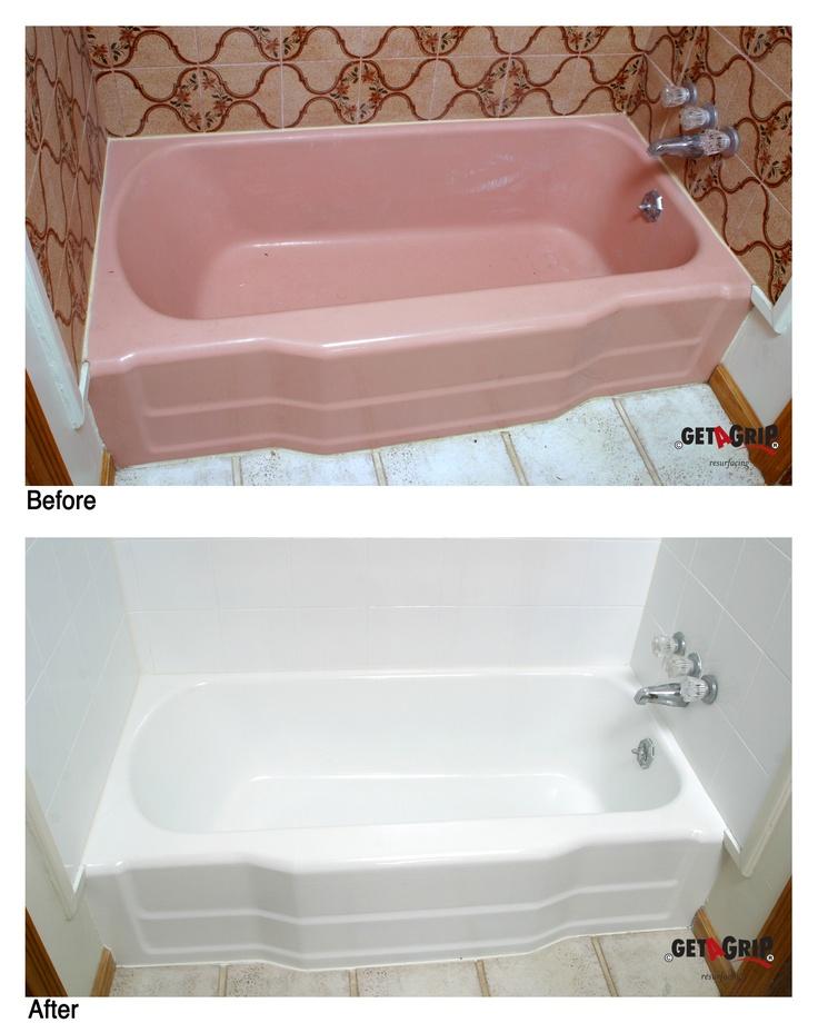 82 best Bathroom resurfacing / refinishing images on Pinterest ...