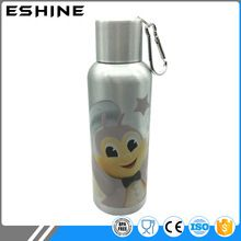 [Outdoor Sports] 500ml aluminum promotional water bottle with umbrella cap and carabiner