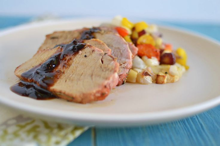 Herb Roasted Pork Tenderloin With Preserves Recipes — Dishmaps