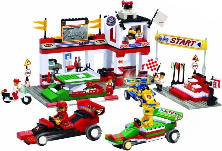 Sluban Формула 1 Станция техобслуживания 38-5500
