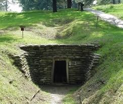 """The """"Crater"""" at the Petersburg Battlefield in Petersburg Virginia. A great tour of a Civil War Battlefield."""