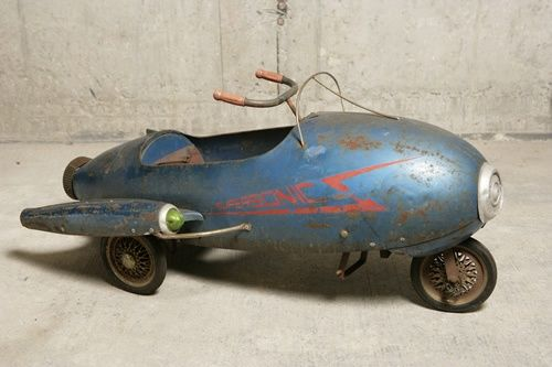 Antique Airplane Tricycle : Best pedal car junkies images on pinterest