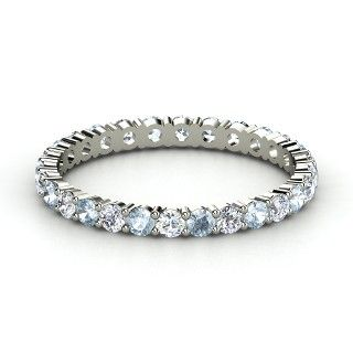 Band Ideas- Diamond and Aquamarine