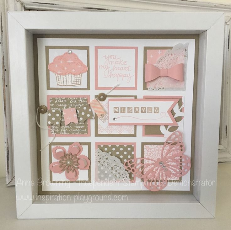 Anna Browning - Australian Independent Stampin Up Demonstrator. Order your frame at www.inspiration-playground.com