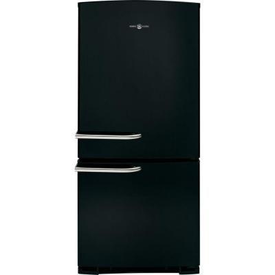 GE Artistry 29.75 in. W 20.3 cu. ft. Bottom Freezer Refrigerator in Black - ABE20EGHBS - The Home Depot