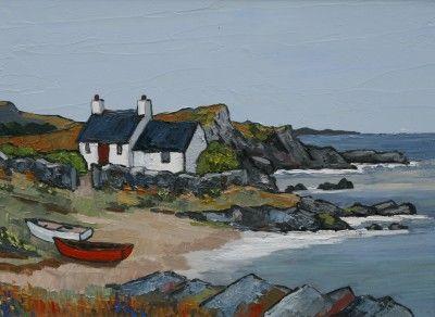 British Artist David BARNES-North Lleyn
