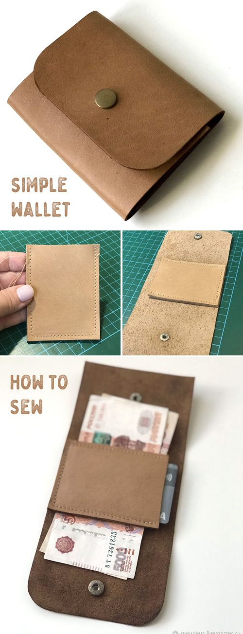 How to sew a Simple Wallet