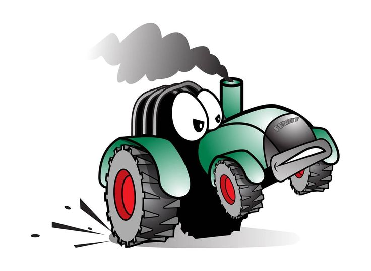 Cartoon Tractor Don 39 t fet