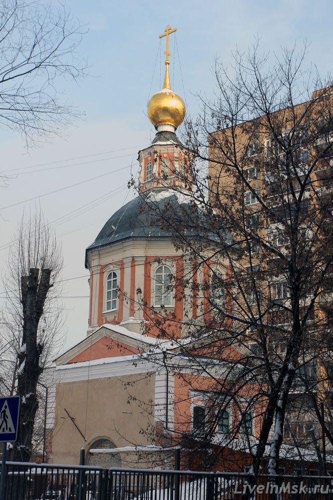 Спасопреображенская церковь на Болвановке