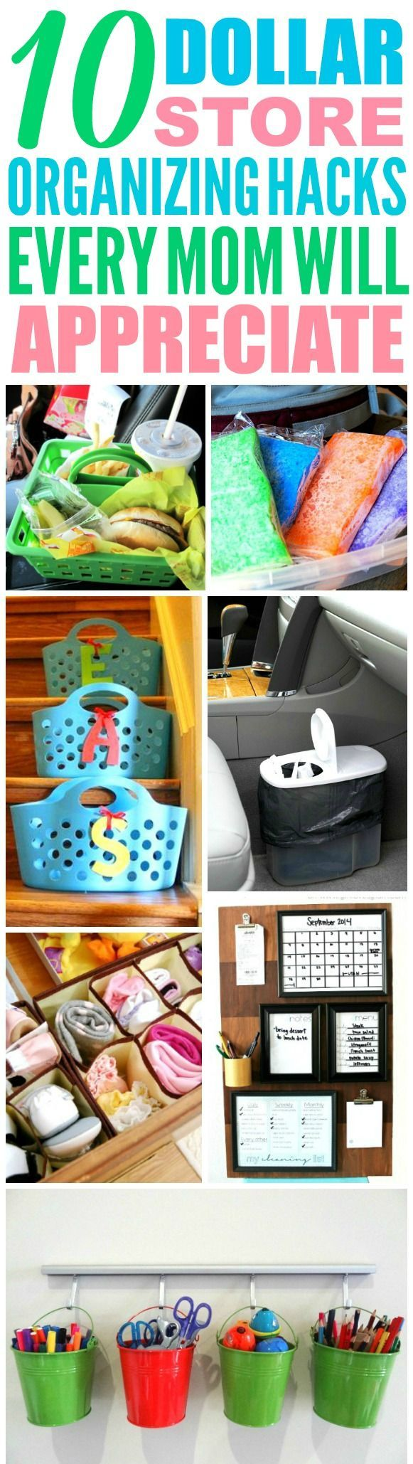 8 Dollar Store Hacks Every Parent Should Know