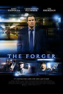 The Forger (2014) A thief (John Travolta) works with his father (Christopher Plummer) and son to forge a painting by Monet and steal the original. Together, they plan the heist of their lives.