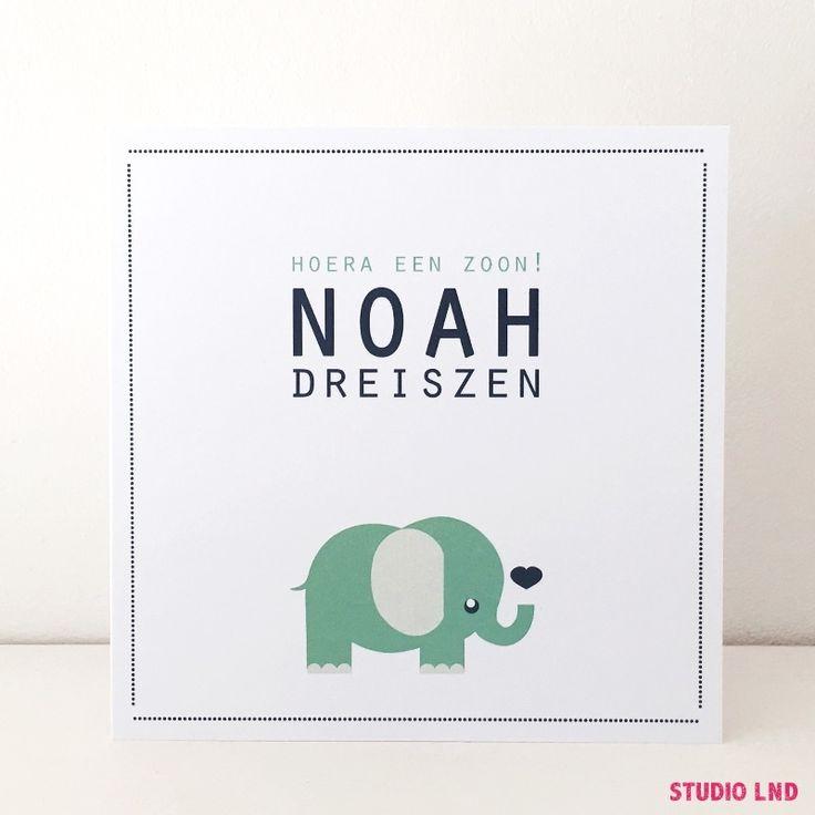 Geboortekaartje Noah 30/06/2016
