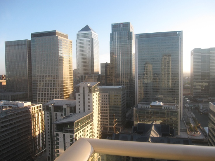 Canary Wharf views