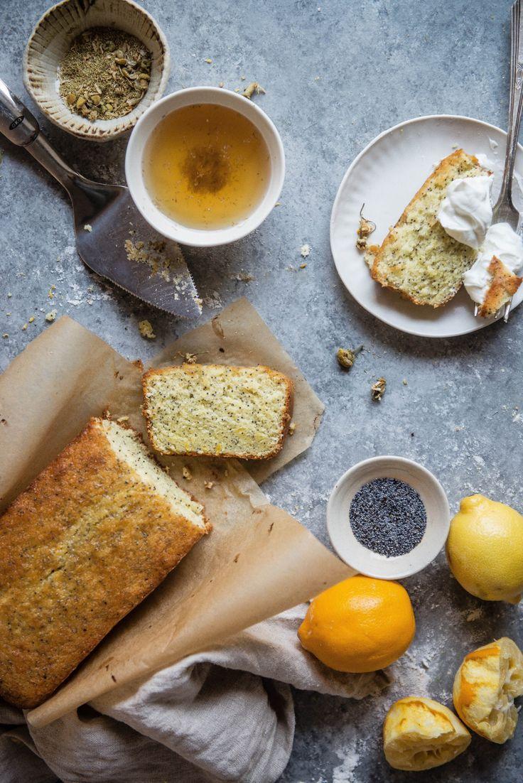 Delta Breezes... — Chamomile Lemon Loaf Cake | Two Red Bowls