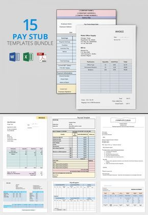 The 25+ best Bill template ideas on Pinterest Family budget - paycheck stub creator free