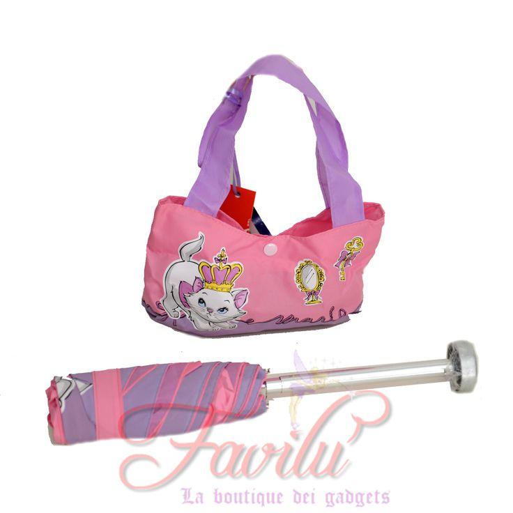 Disney Marie ombrello in borsetta novità assoluta 2014