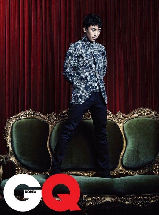 Seungri ♡ #BIGBANG for GQ Magazine:
