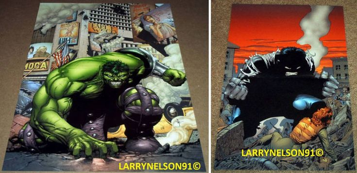 INCREDIBLE HULK POSTER #110 WORLD WAR HULK GREEN MARVEL PETER DAVID GARY FRANK