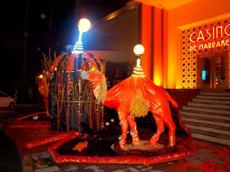 Décor Halloween au casino de Marrakech 2014 par Artchimiste
