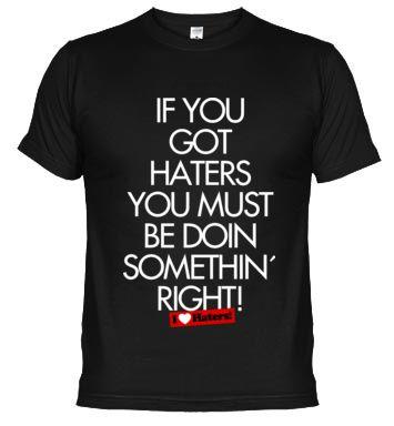 I Love Haters - Camiseta Rubius ahora con un 10% de descuento en LATOSTADORA.COM con el código: ARMARIAZO