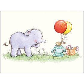 B039 Little Elephant Gift Card. www.gailscards.com.au