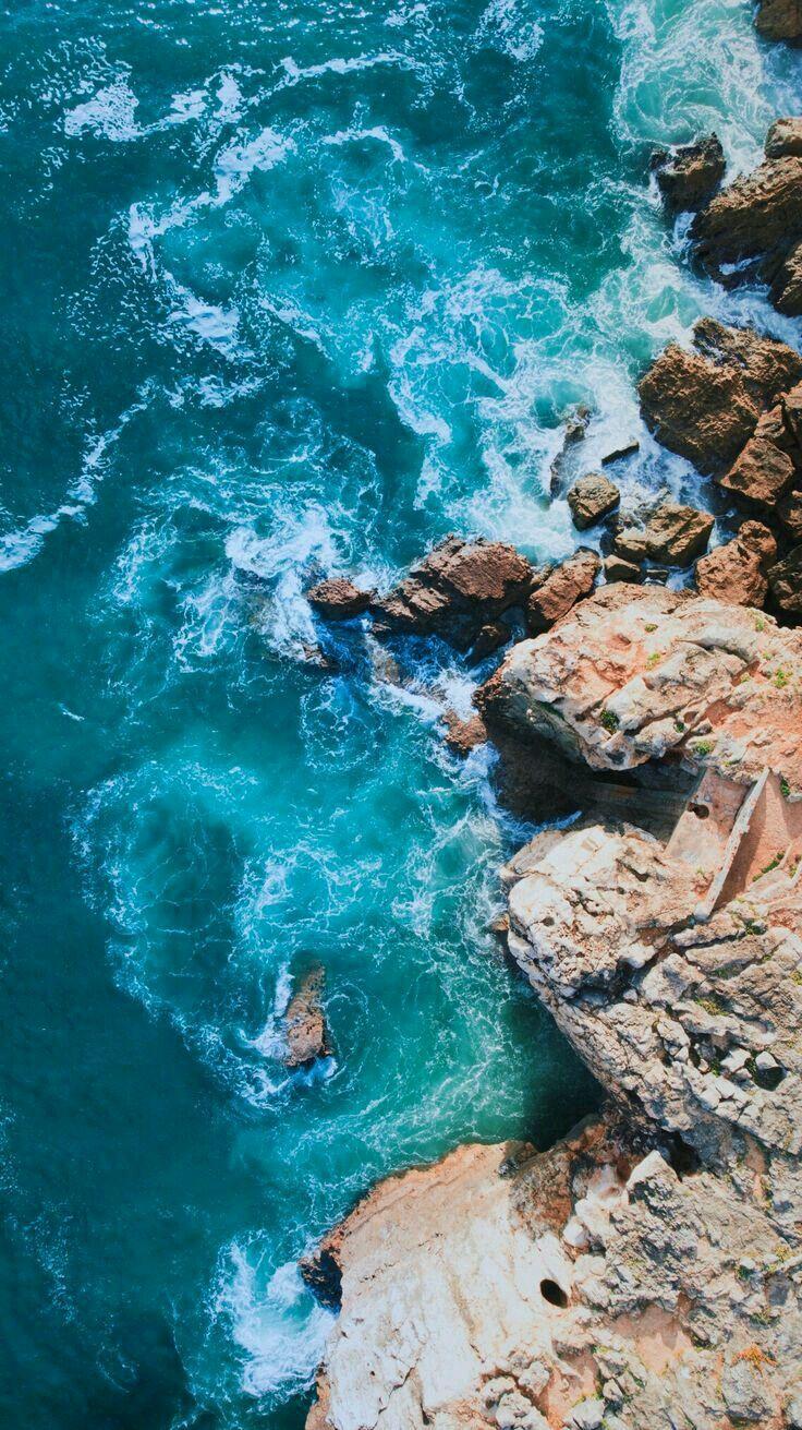 Pin By Lizy Maciejewski On Paisagens Blue Wallpaper Iphone Ocean Wallpaper Nature Wallpaper