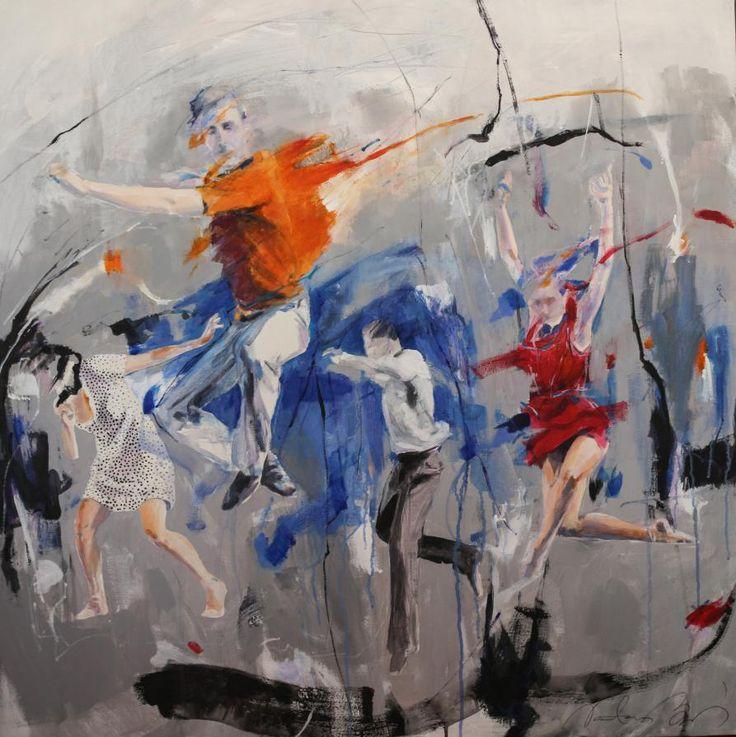 'Freedom' by Natasa Bezic http://www.celesteprize.com/artwork/ido:391045/ #painting #fineart Celeste Prize 2016