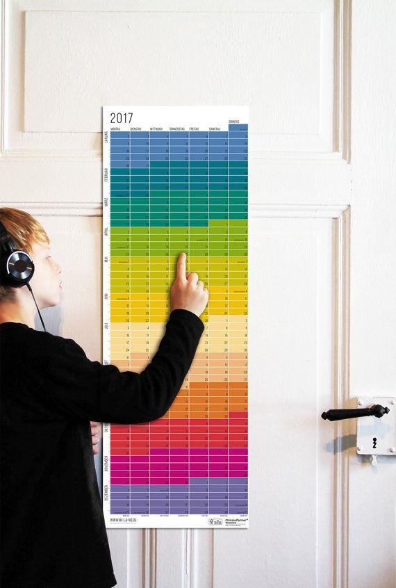 Wandkalender 2017 Jahresplaner