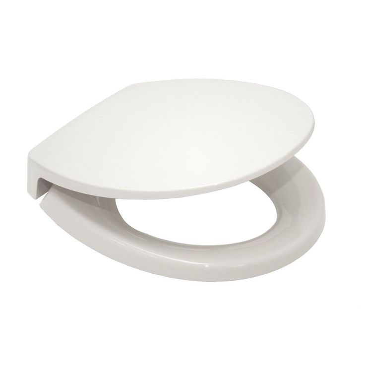 Toto SS113-01 Transitional SoftClose Round Toilet Seat (Cotton White)