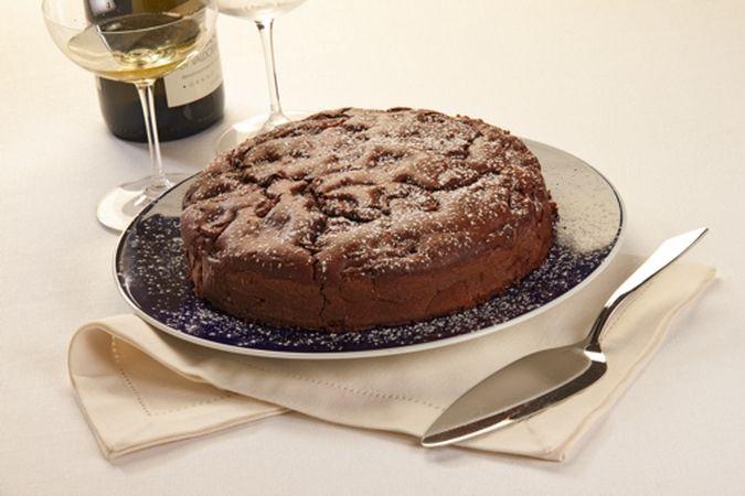"Torta di pere al cacao ""torta soffice"""