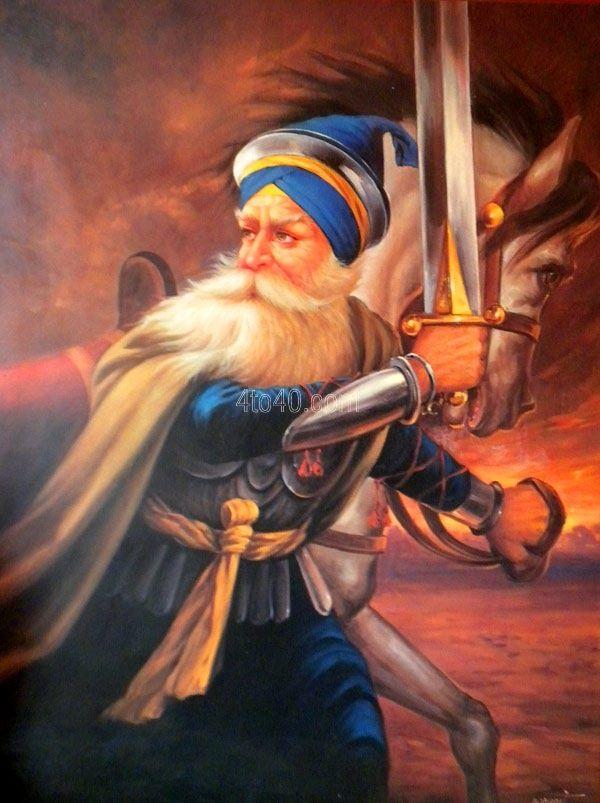 Shaheed Baba Deep Singh ji    Sikhpoint.com