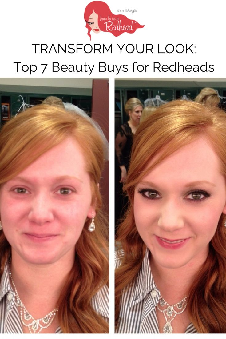 Makeup for redheads