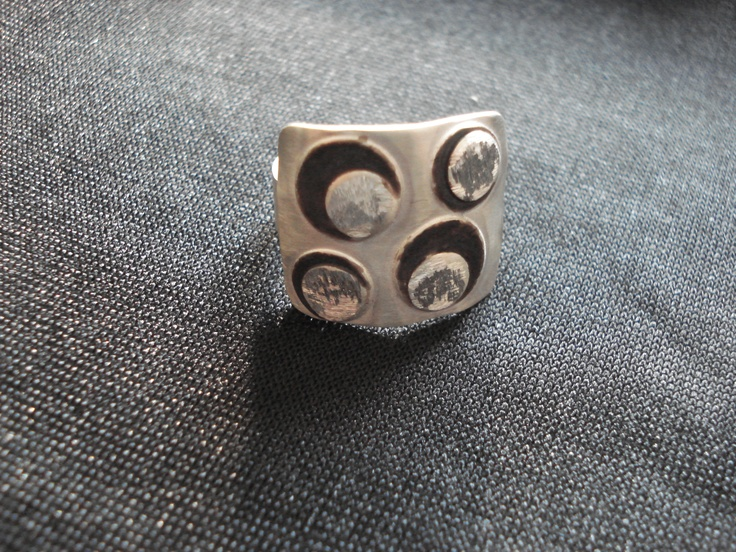 Sterling silver hand made ring