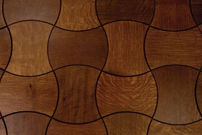 crescent - wood tile floor: Patterns Wood, Floors Patterns, Dreams Houses, Wood Floors Tile, Hardwood Floors, Rugs Patterns, Beckwith Collection, Wood Tile Floors, Floors Design