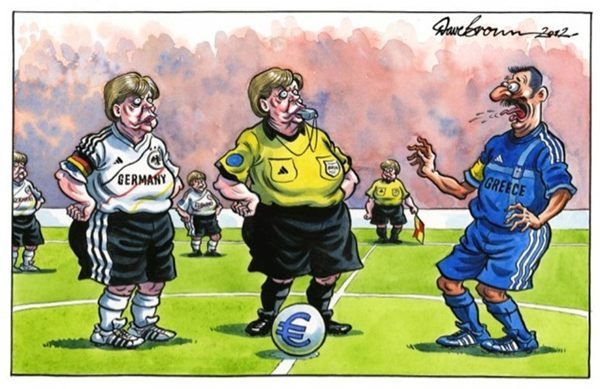 Merkel vs greece (paragka style)