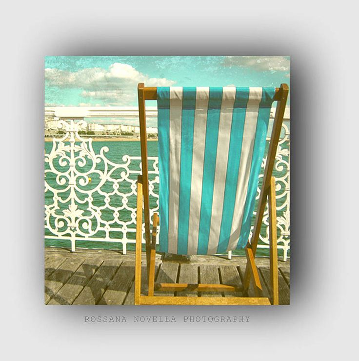 Seaside Canvas Print 20 X 20'