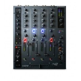 This progressive 4 -channel DJ mixer is designed for DJ's of all abilities and experience from top pro DJ's to bedroom enthusiasts who want a compact quality mixer with pro features to mix any source - whether vinyl, CD or MP3.  The USB port allows easy connection to a computer and the integration of digital media, which can be used to play back music files from a laptop, record mixes, or used with music software.