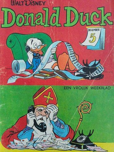 Donald Duck 1963 (Sinterklaas cover)