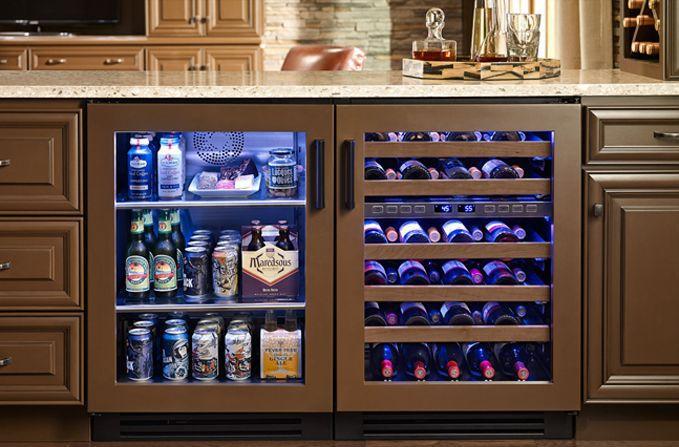10 Best Beer Fridges In 2019 Reviews Glass Door Refrigerator Beer Fridge Wine Cabinets