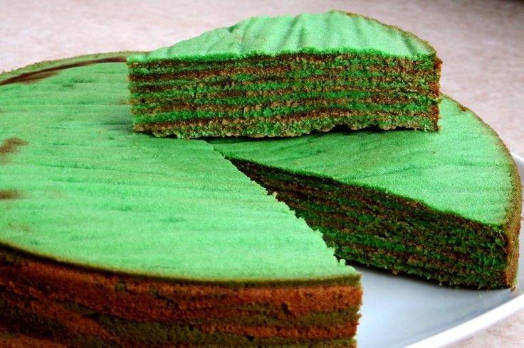 Vegan Spekkoek (Dutch-Indonesian layered cake)